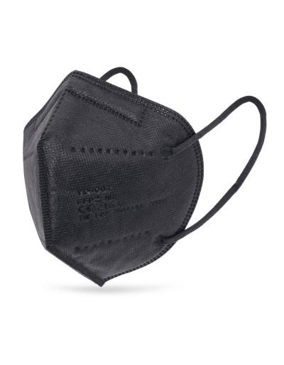 Mascherina FFP2 nera, 25 pezzi