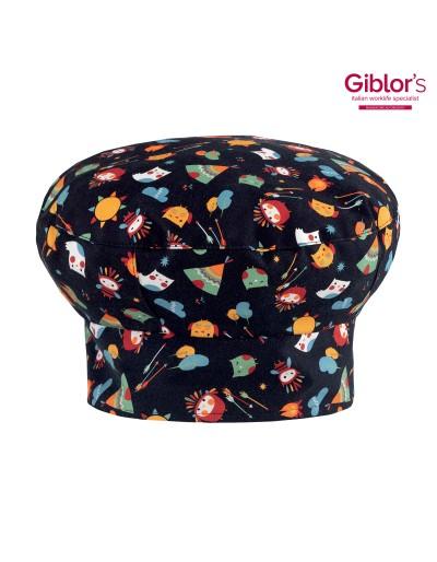 Cappello cuoco MONET gufi indiani