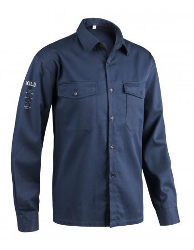 Camicia antistatica Blu X80B